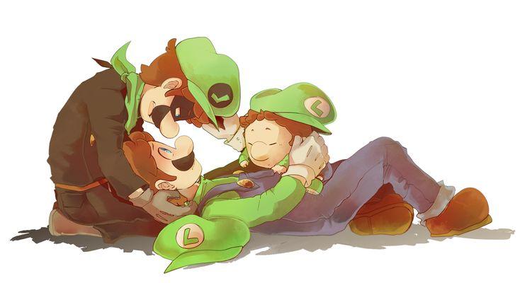 Mr. L, Luigi and Baby Luigi *^*