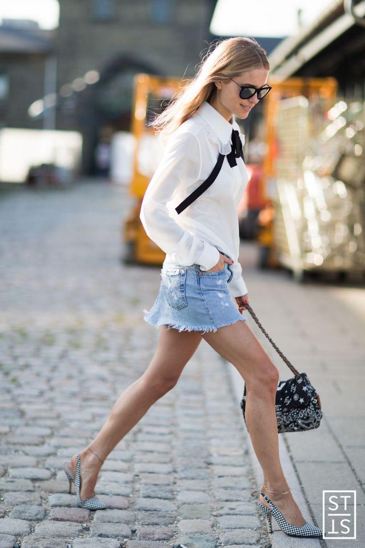 Style Stalker by Simon Brzóska - Street Style during Copenhagen Fashion Week S/S...