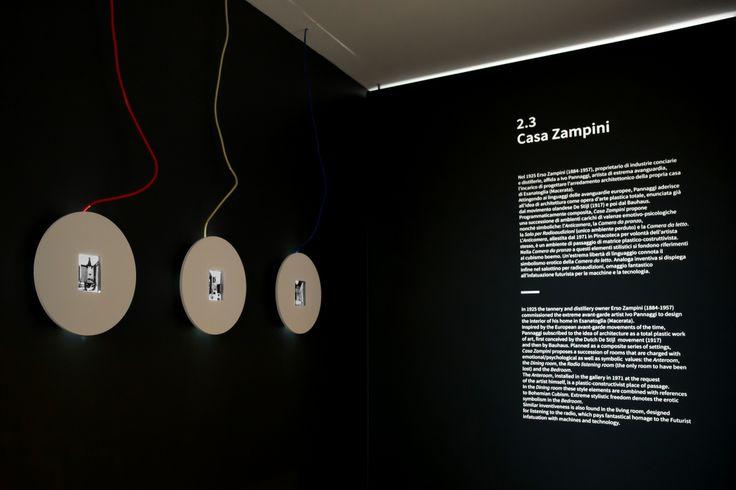 La sezione di arte moderna di #PalazzoBuonaccorsi a #Macerata, ricca di 150 opere, è disposta su sedici ambienti. Da segnalare l'arredamento futurista di casa Zampini, opera di Ivo #Pannaggi. La sezione di arte moderna di #PalazzoBuonaccorsi a #Macerata, ricca di 150 opere, è disposta su sedici ambienti. Da segnalare l'arredamento futurista di casa Zampini, opera di Ivo #Pannaggi. FOTO GIORGIA BIANCINI