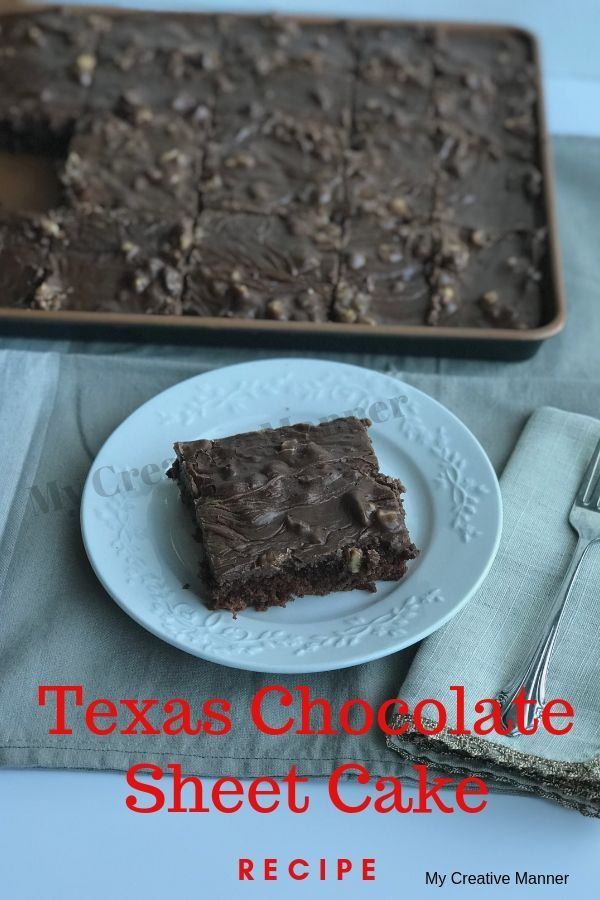 The Most Amazing Texas Sheet Cake You Will Ever Have Recipe Sheet Cake Recipes Chocolate Sheet Cake Recipe Yummy Food Dessert