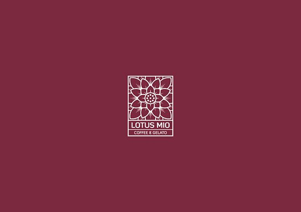 Graphic Standard Manual of Lotus Mio Coffee & Gelato on Behance