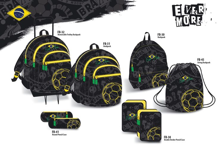 "Brazil Theme for Loumakat ""Evermore"" bags"