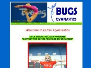 Bugs Gymnastics