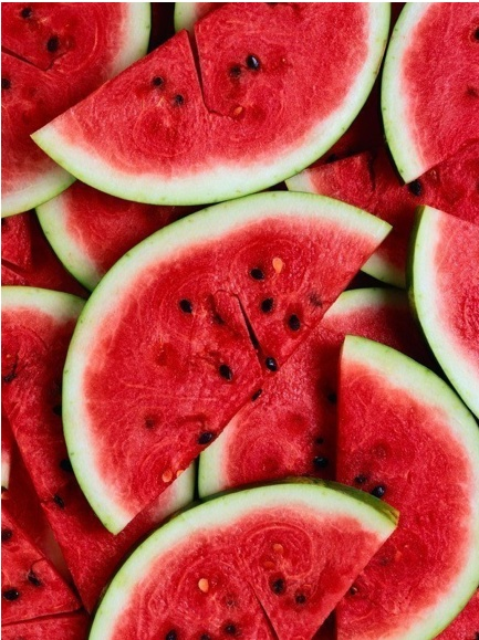 water mellon, tasty, sweet, red, fruits, food