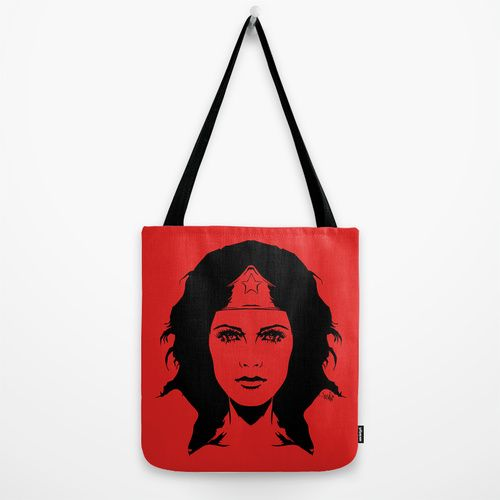 Wondering Revolution Tote Bag by Vee Ladwa | Society6
