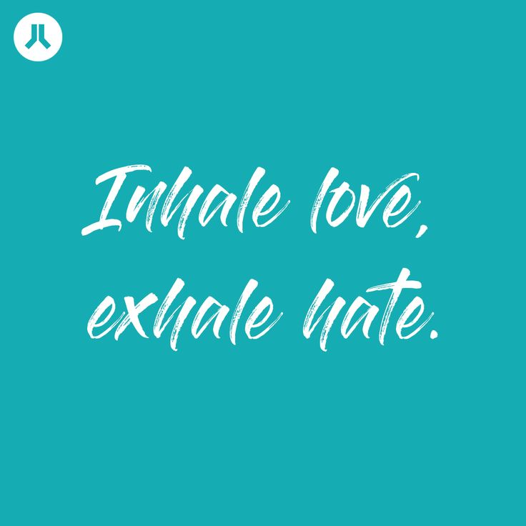 Inhale love, exhale hate || Pray For Yoga