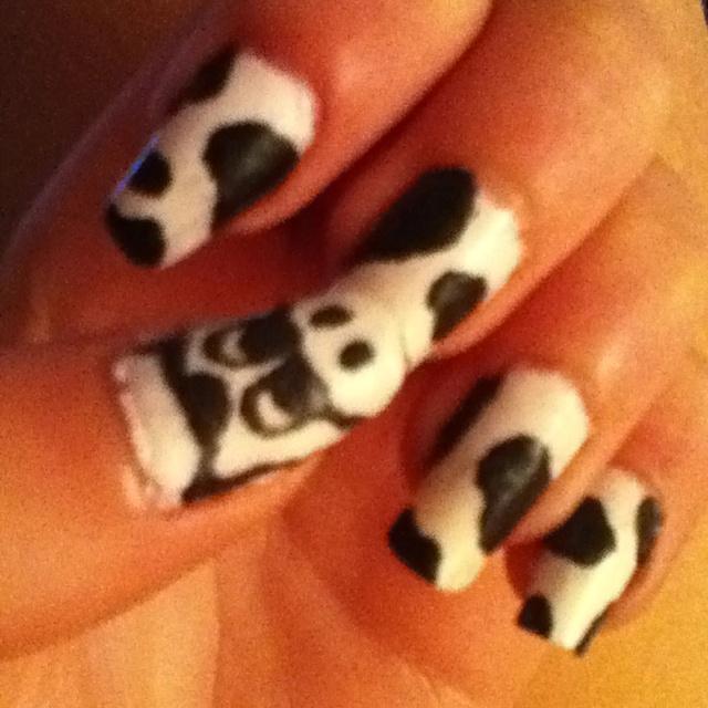 Koeien nagels... :p