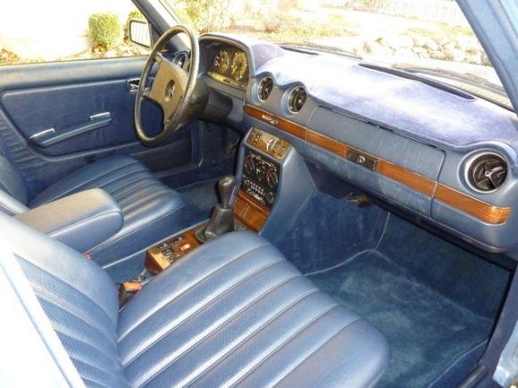 1983 Mercedes Benz 240D Survivor For Sale Interior