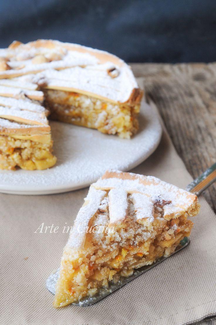 TORTA ROMEO E GIULIETTA dolce con frutta secca semplice e goloso SOLO SU ARTE IN CUCINA
