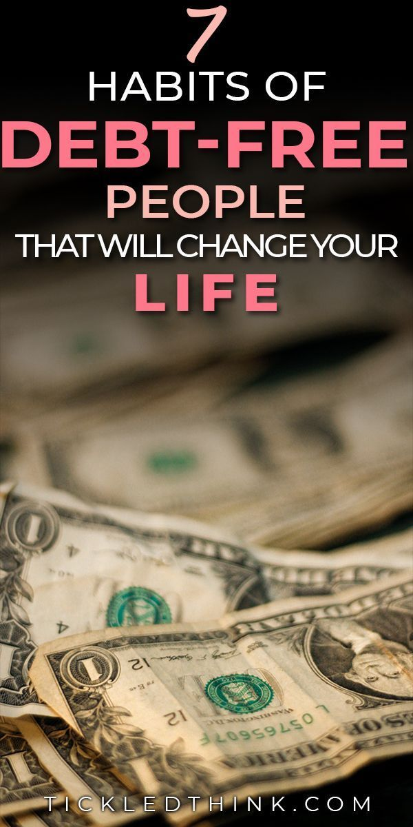 7 Habits of Debt-Free People that will Change your Life