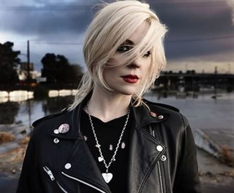 Brody Dalle - another courageous woman with a IDGAF tude.  Her and her hubby make a dynamic duo!