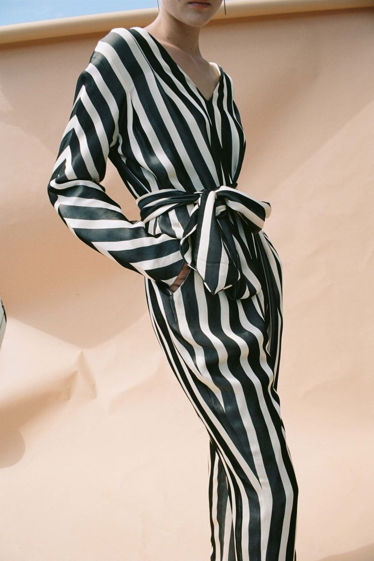 pin tucked striped pleats   See the complete Kaelen Spring 2017 Ready-to-Wear collection.