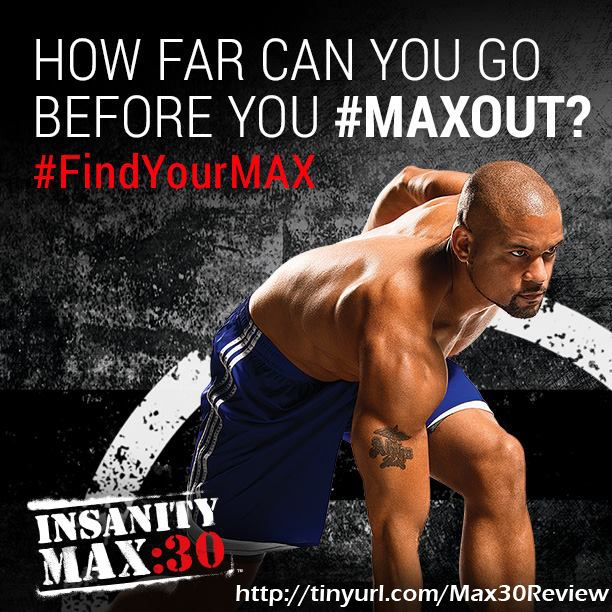 Insanity Max 30 is about pushing yourself to go longer every single day, your MAXOUT time. Don't do what everyone else is doing, do what you can do!