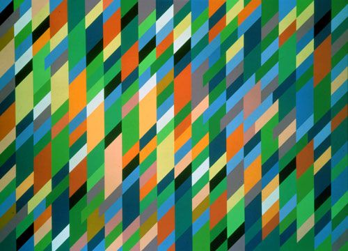 Bridget Riley, High Sky 2, 1992