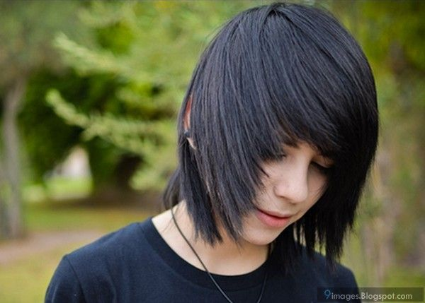 Emo, Adorable, Guy, Hairstyle, Looks
