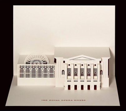 Royal Opera Pop-Up Card by Judy Robinson