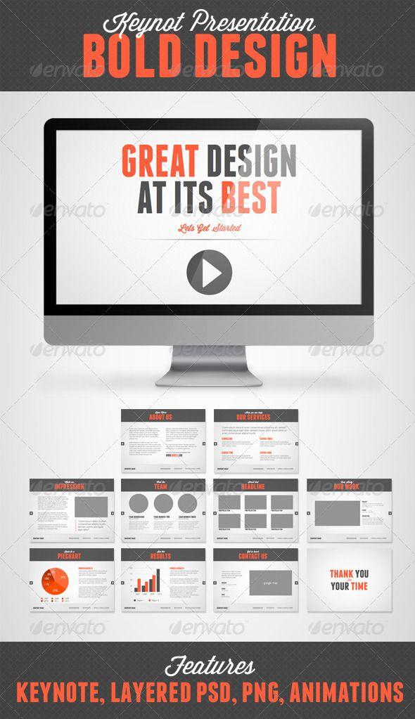 Bold Design Keynote