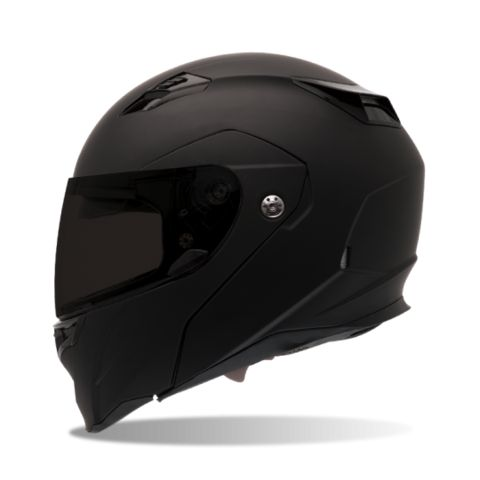 Bell Revolver Evo Street Helmet, Street Helmet, Bell, Matte Black - Langston Motorsports