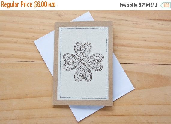 SALE Hearts Notecard. Love You Card. Blank Notecard. by Mettaville