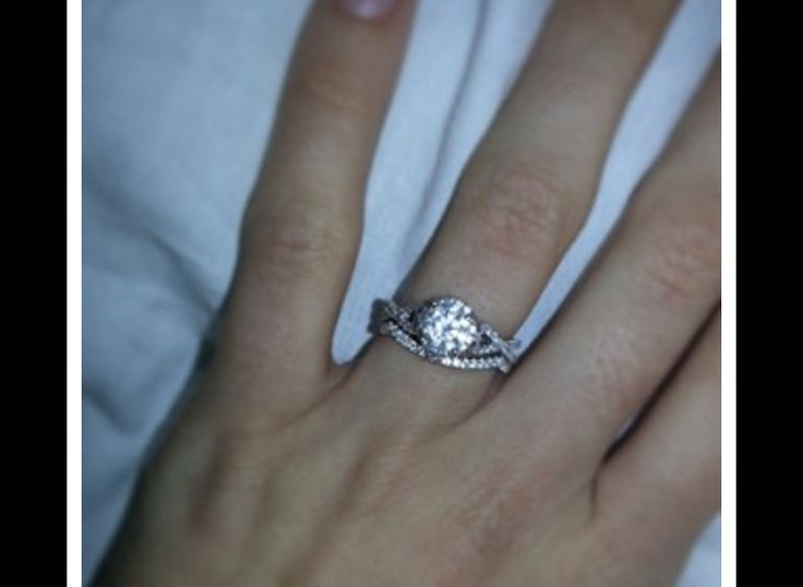 Best 25 Infinity Band Engagement Ring Ideas On Pinterest Square Wedding Rings Twisted And Design An