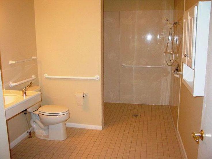Best 25 Ada Bathroom Ideas On Pinterest: 1000+ Ideas About Handicap Bathroom On Pinterest