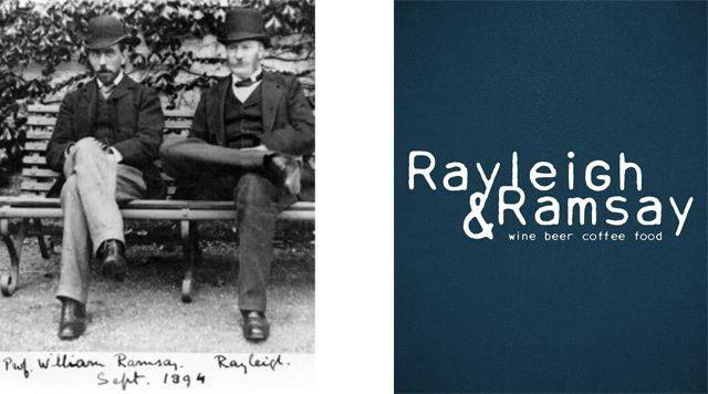 Rayleigh & Ramsay. Amsterdam - overtoom. Open 18 mei wijntap aan tafel
