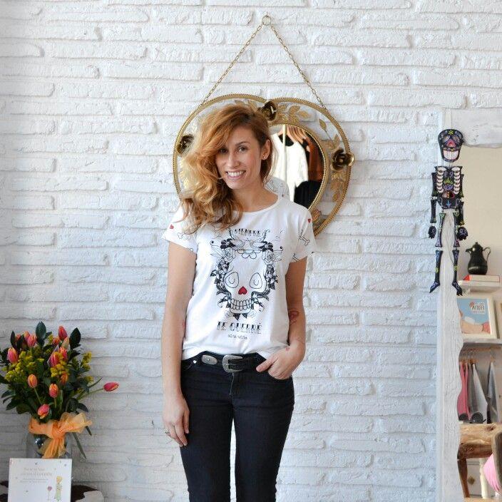 "Camiseta "" Siempre te querré "" Ya en www.aireretro.es"