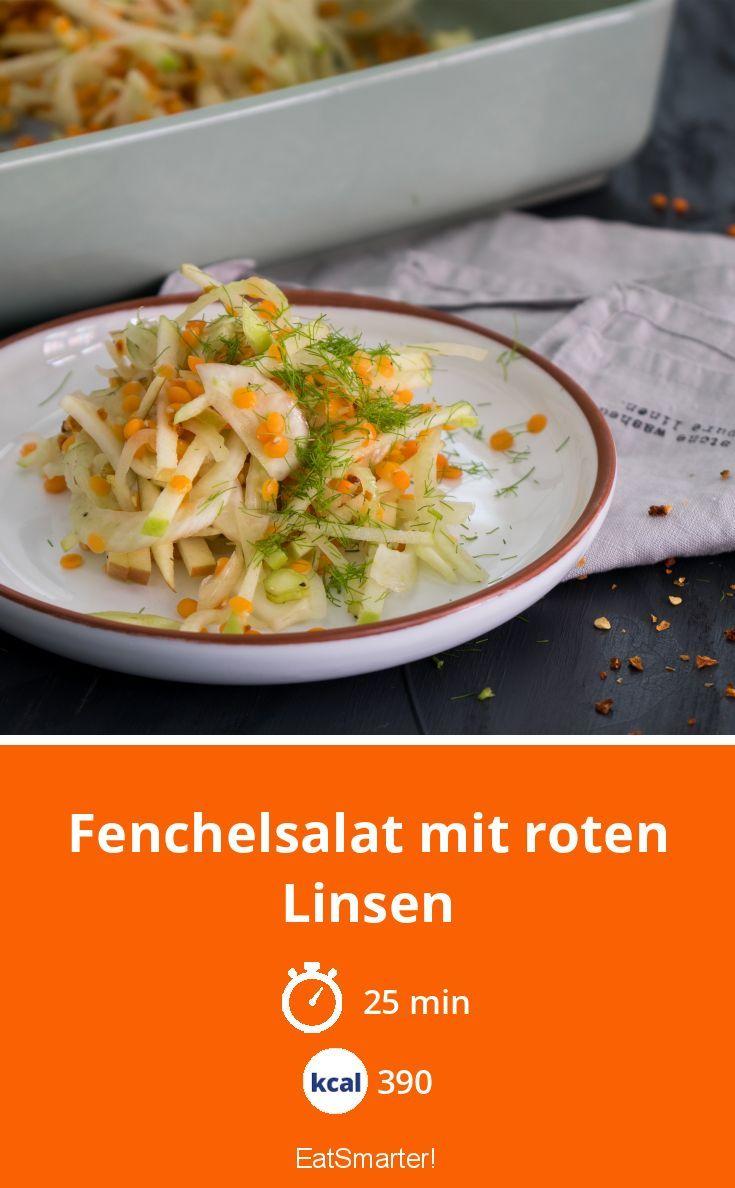Fenchelsalat Mit Roten Linsen Rezept Fenchelsalat Fenchel