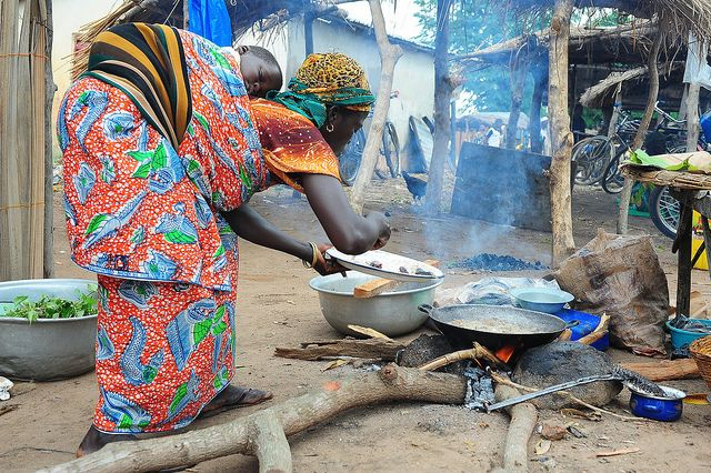 """street food in Africa, """"street meat"""" as we affectionately named it :)"""