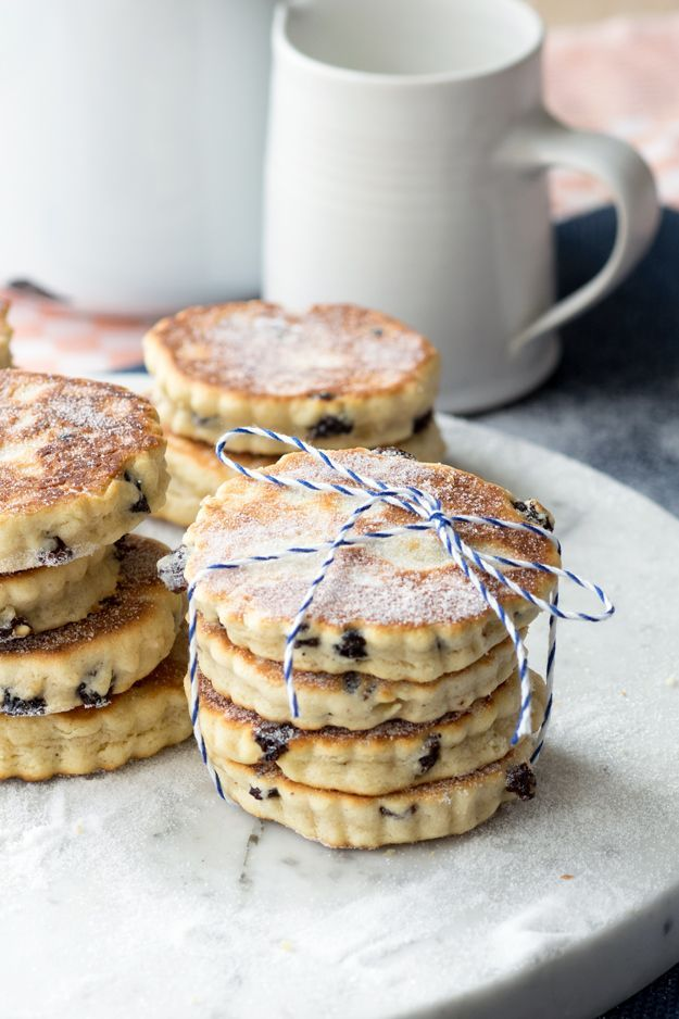 Enjoy Welsh Cakes with a cup of tea. Perfect for the morning or as an afternoon snack  Source: www.theworktop.com