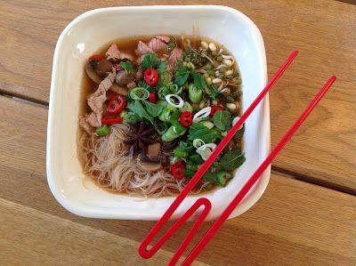 Evas Køkken: Pho Vietnamesisk spicy suppe med masser af fyld