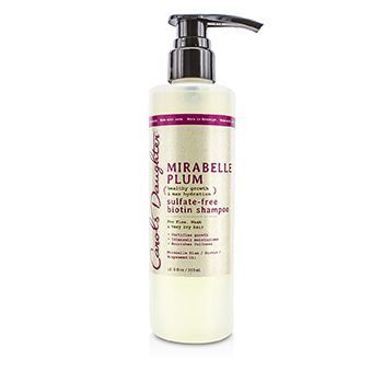 Mirabelle Plum Healthy Growth & Max Hydration Sulfate-free Biotin Shampoo (for Fine Weak & Very Dry Hair)