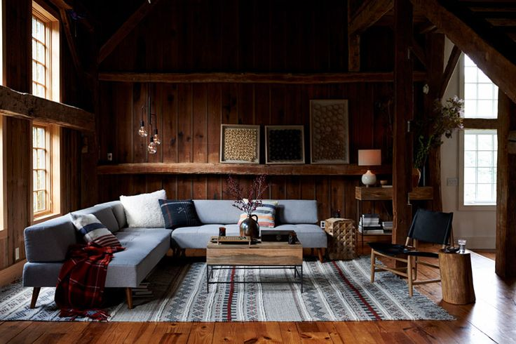 Behind-the-scenes of west elm's catalogue: A Dreamy Catskills Farmhouse