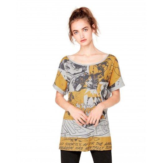 Oversized #WonderWoman #tshirt from #Benetton #superhero #woman collection