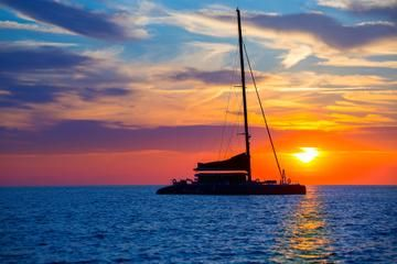 Swim and snorkel, then watch a glorious tropical sunset on this Sunset and Snorkeling Catamaran Cruise in Barbados