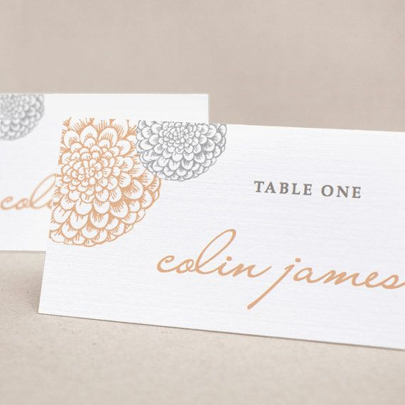 198 Best Wedding: Place Cards Images On Pinterest | Marriage