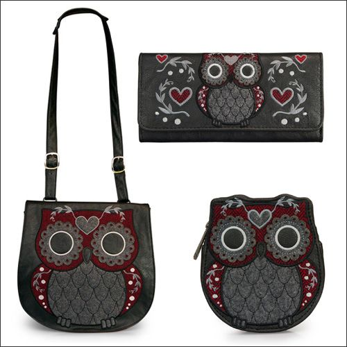 Owl purse, wallet