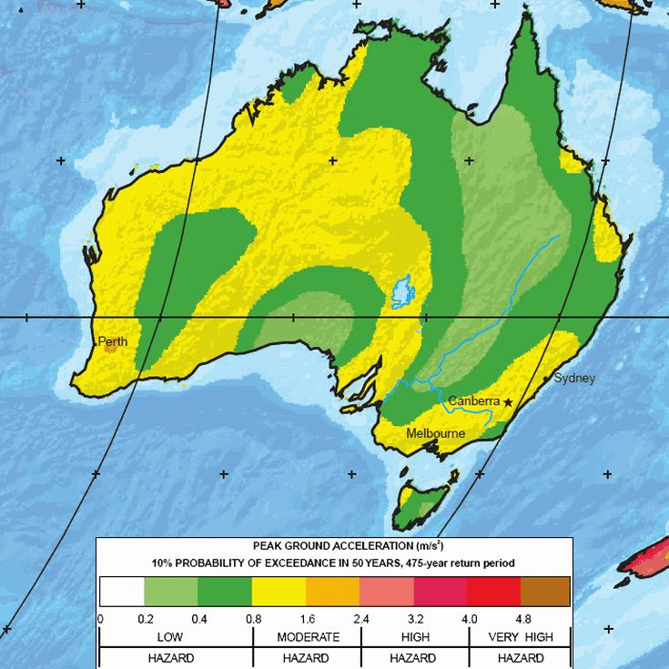 The Greatest Earthquake Zones on Earth: Australia and New Zealand