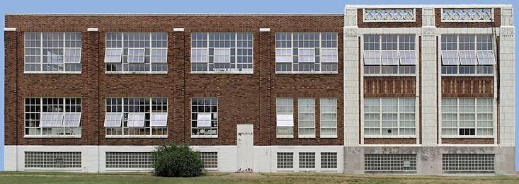 Skinker Warehouse Showroom Side, Wellston (St. Louis), Missouri