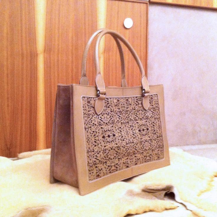 Arabesque lasercut tode bag @bottegapb1.com