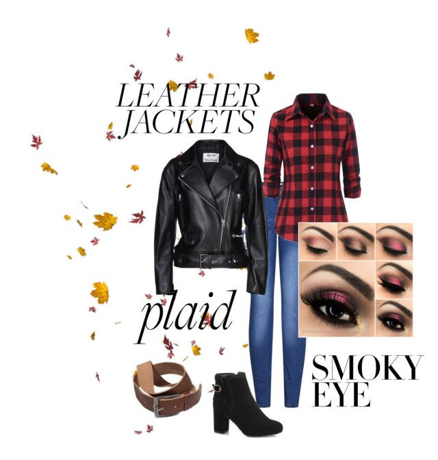 """""""Fall Concert western rocker"""" by mandy-curtis on Polyvore featuring 2LUV and Acne Studios"""