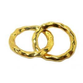 verguld goud infinity bedel hanger kralen