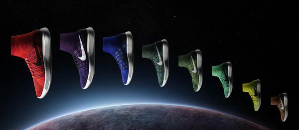 Nike – Lunarepic Flyknit is Nike's latest step forward, taking inspiration from the Magista football boot while advancing the brand's Lunar tech.