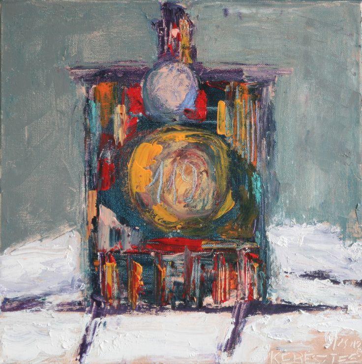 Toile 5 - Magdalena Keresztes, artiste peintre à Amiens