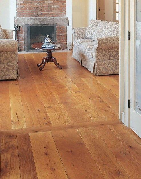 White Oak Living Room Pine FloorsOak