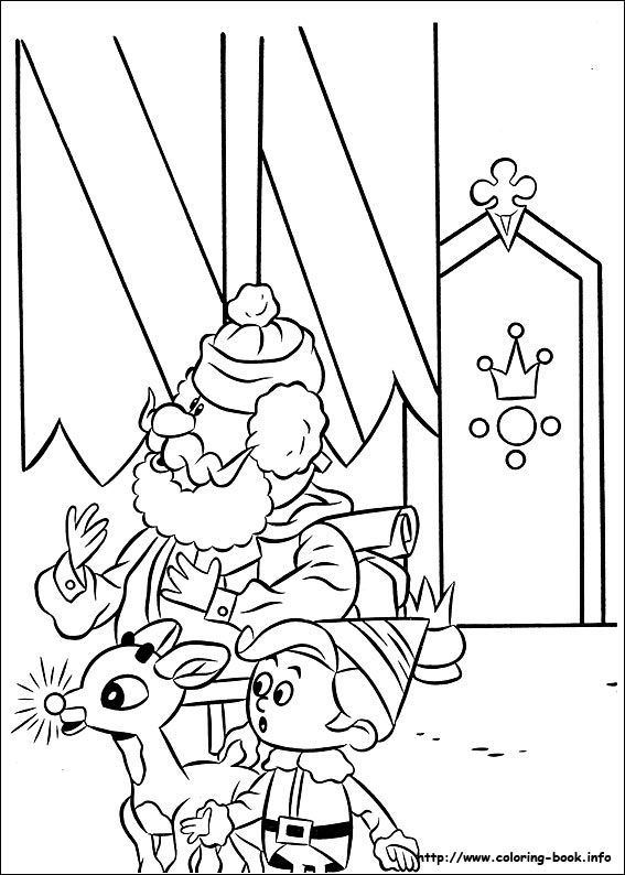 Rudolph The Red Nosed Reindeer Coloring Picture Parentingstylesworksheet Coloring Pages Christmas Coloring Sheets Christmas Coloring Pages