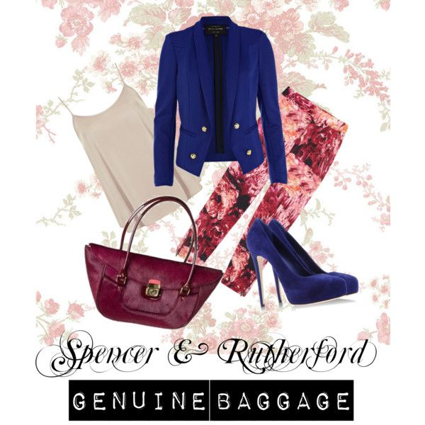 """""""Spencer & Rutherford Bag - Genuine Baggage"""" by baggage on Polyvore"""