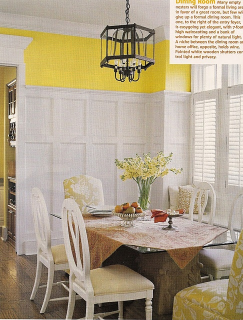 77 Best Images About Yellow Walls White Trim On Pinterest