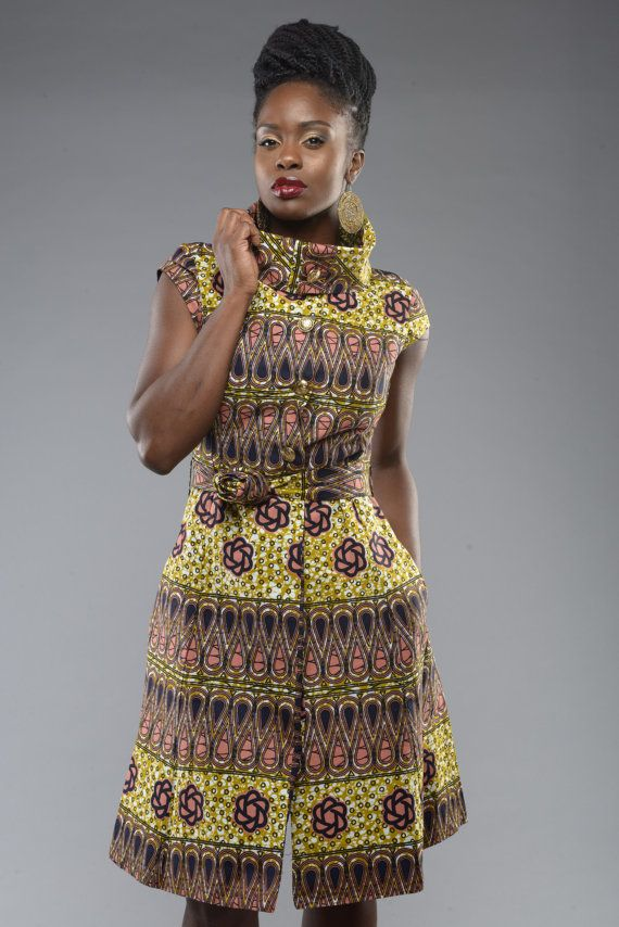 Countess ankara dress by GITAS PORTAL by GitasPortal on Etsy