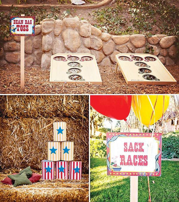 Vintage Donald Duck Inspired County Fair {3rd Birthday}